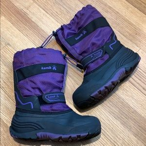 Kamik [Size: 3 ] Purple Snow Boots